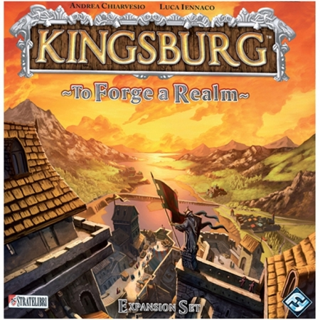 Kingsburg: To Forge a Realm Expansion - Настольная игра