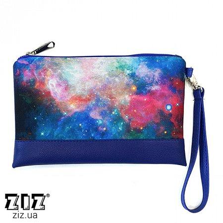 Клатч цветной Космос, ZIZ-25027