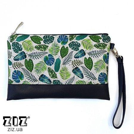 Клатч цветной Тропики, ZIZ-25026