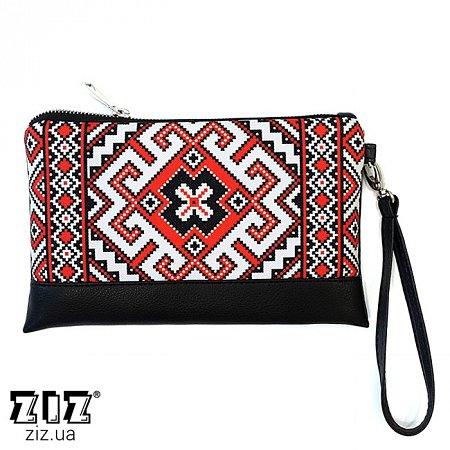 Клатч цветной Вышиванка, ZIZ-25025