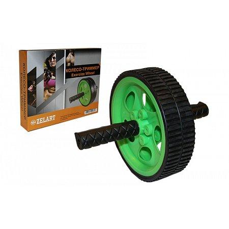 Колесо-триммер двойное FI-4242 (d колеса-18,5см, металл, пластик, ручка-резина)