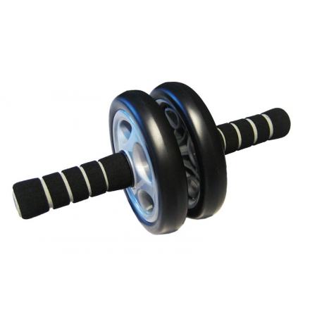 Колесо-триммер двойное PS B-701 (d колеса-15см, металл, пластик, резина, ручка-неопрен)