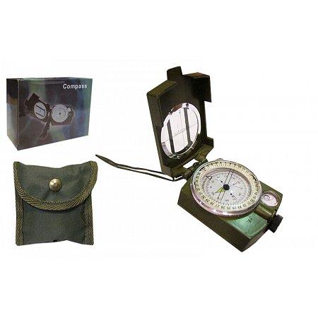 Компас жидкостный в закрытом корпусе K4580 (d-55мм, металл, пластик)