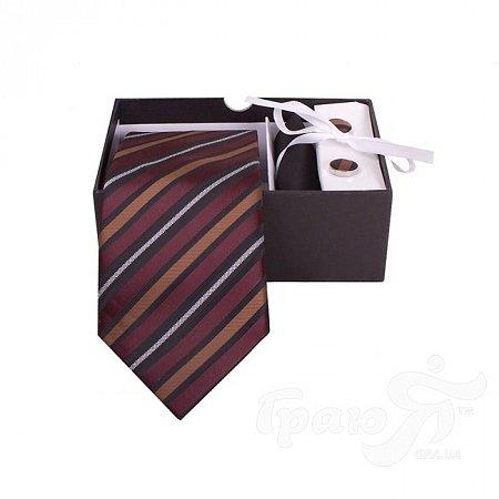 Комплект подарочный шелковый для мужчин ETERNO (ЭТЕРНО) EG510 ETERNO