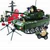 Конструктор BRICK 823 Танк 466 деталей