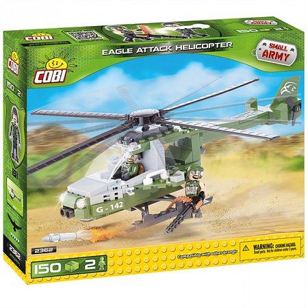 Конструктор COBI Атакующий вертолет Eagle, 150 деталей (COBI-2362)