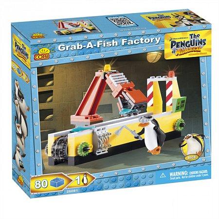 Конструктор COBI Конвейер - время для рыбки., 80 деталей (COBI-26081)