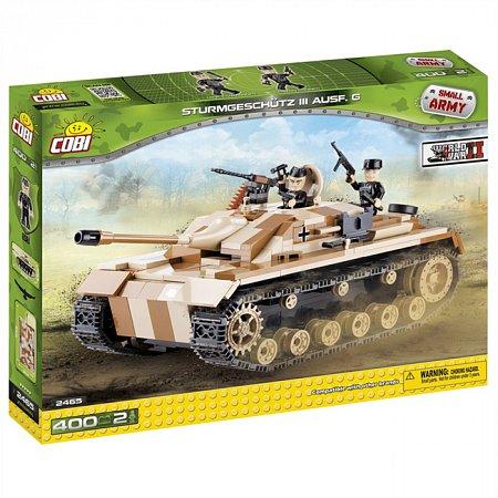 Конструктор COBI Самоходно-артилерийская установка StuG III, 400 деталей (COBI-2465)