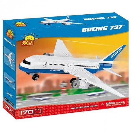 Конструктор COBI Самолет Boeing 737, 170 деталей (COBI-26170)