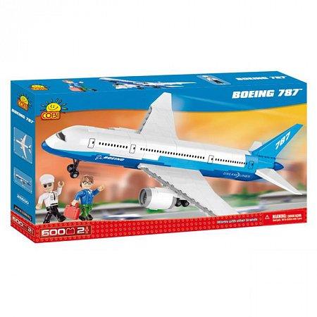 Конструктор COBI Самолет Boeing 787 Dreamliner, 600 деталей (COBI-26600)