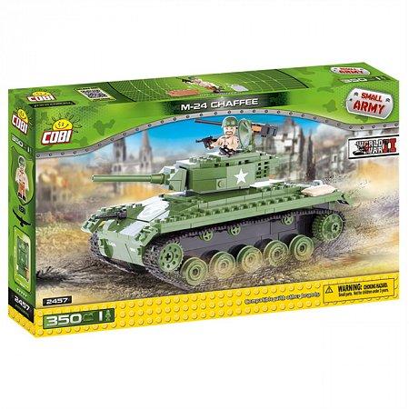Конструктор COBI Танк M-24 Chaffee (США), 350 деталей (COBI-2457)