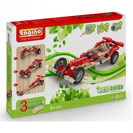 Конструктор Engino Машины, 3 модели с электродвигателем (EB70)