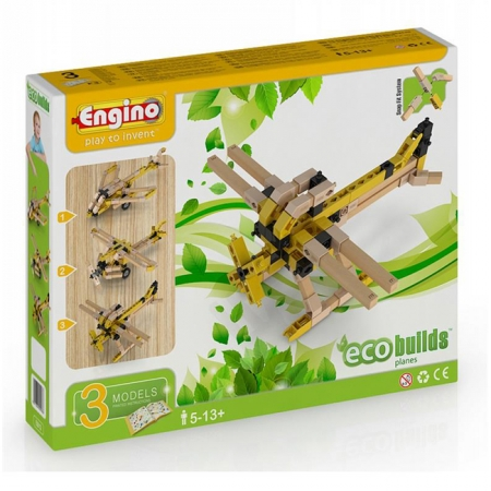 Конструктор Engino Самолеты, 3 модели (EB13)