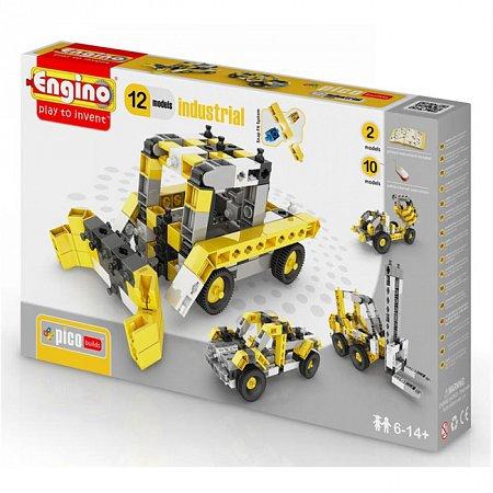 Конструктор Engino Строительная техника, 12 моделей (PB34)