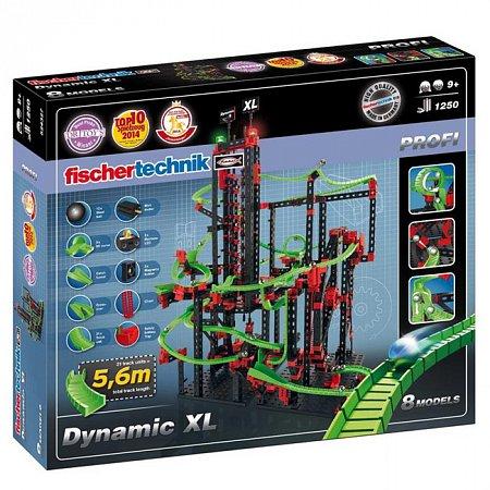 Конструктор Fischertechnik Динамика-ХЛ, 1250 деталей (FT-524327)