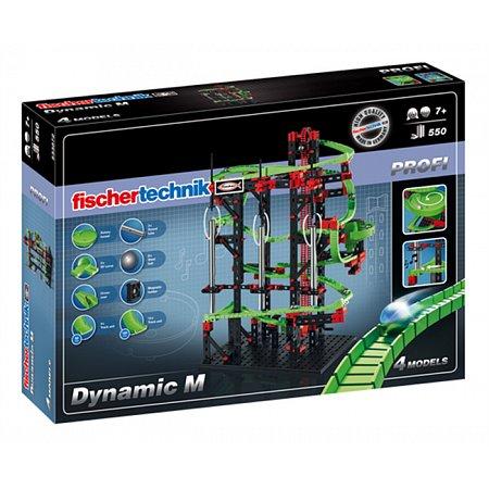 Конструктор Fischertechnik Динамика-М, 550 деталей (FT-533872)