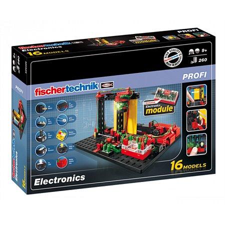 Конструктор Fischertechnik Изучаем электронику, 260 деталей (FT-524326)