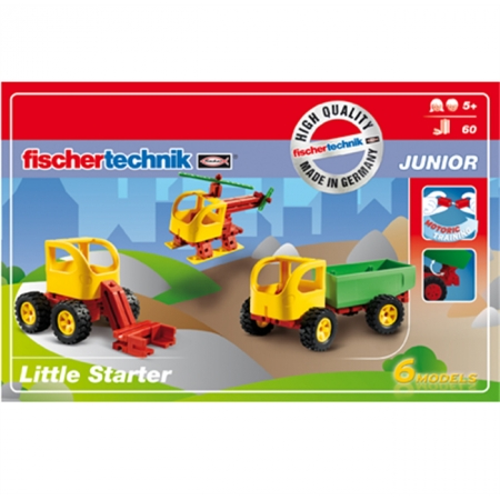Конструктор Fischertechnik Маленький детский набор, 60 деталей (FT-511929)