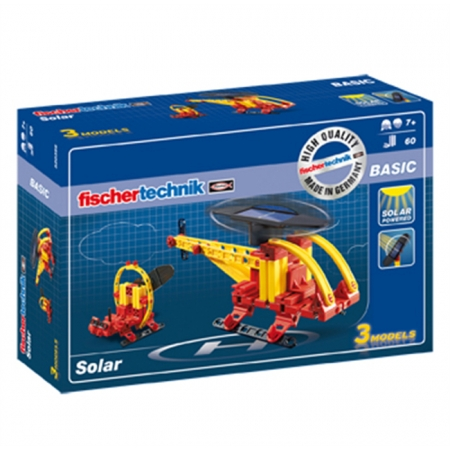 Конструктор Fischertechnik Модели на солнечной энергии, 60 деталей (FT-520396)