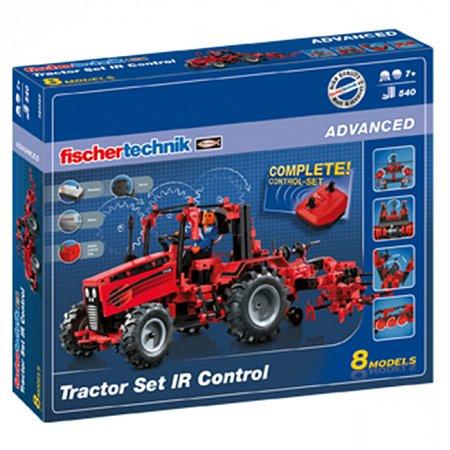 Конструктор Fischertechnik Трактор с ДУ, 660 деталей (FT-524325)