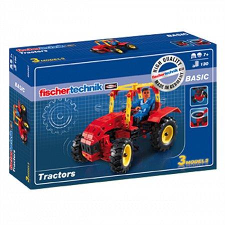 Конструктор Fischertechnik Тракторы, 130 деталей (FT-520397)