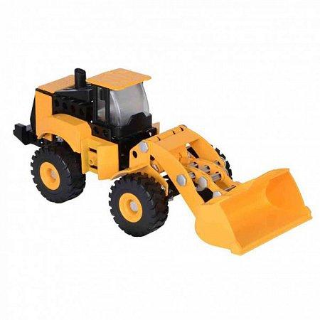 Конструктор Machine Maker погрузчик CAT, Toy State, 80933