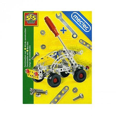 Конструктор металлический - Легковой автомобиль, SES, 14951S
