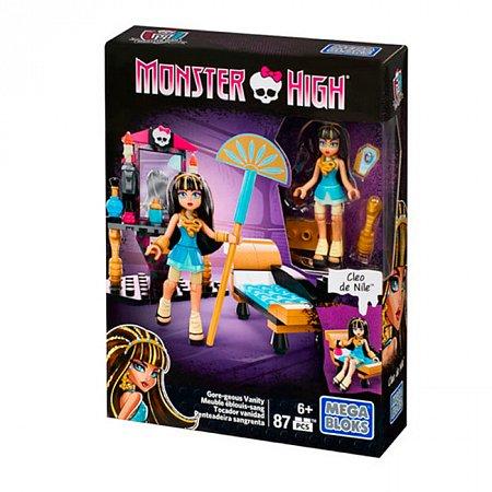 Конструктор Монстро-хобби: Салон красоты Клео, Monster High, Mega Bloks, салон красоты, CNF79-2
