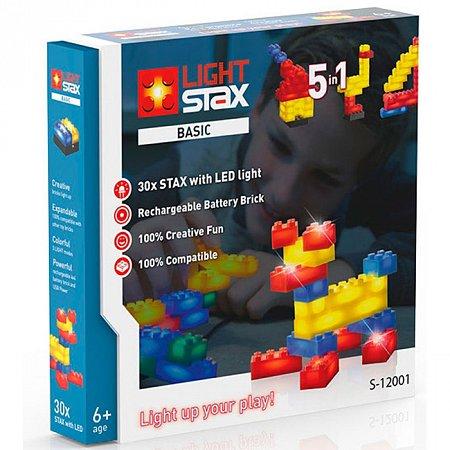 Конструктор с LED подсветкой, Basic, Light STAX, LS-S12001