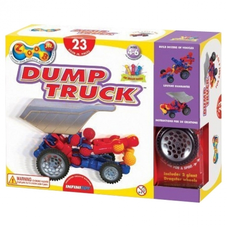 Конструктор ZOOB JR. Dump Truck Set (Набор для маленьких)