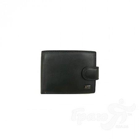 Кошелек мужской кожаный WANLIMA (ВАНЛИМА) W500436134-black