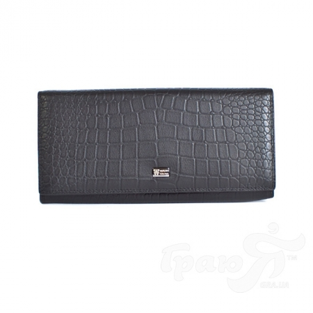 Кошелек женский кожаный WANLIMA (ВАНЛИМА) W62043790013-black