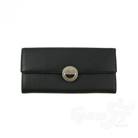 Кошелек женский кожаный WANLIMA (ВАНЛИМА) W81047550661-black
