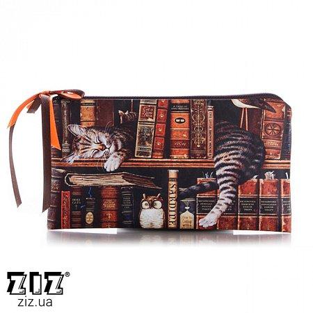 Косметичка Кот на полке, ZIZ-23101