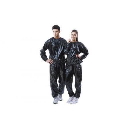 Костюм-сауна (весогонка) PS FI-801-BL(L) (0,14мм PVC, р-р L, черный)