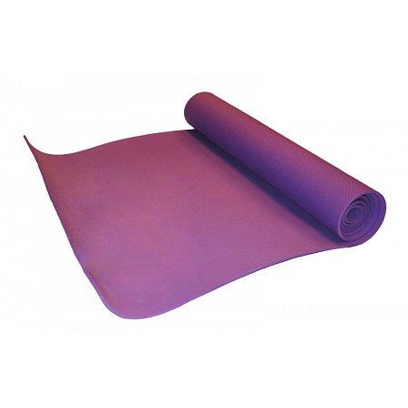 Коврик для фитнеса, EVA однослойный 4мм YG-054 (р-р 1,73м x 0,61м x 4мм, фиолетовый)