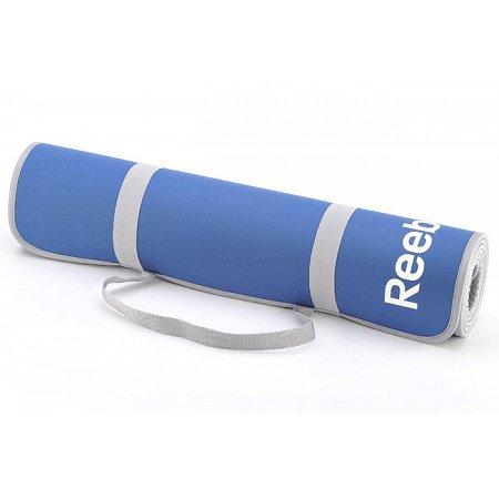 Коврик для фитнеса Reebok, 173x61см x 6мм, двусторонний, RAEL-11024BL