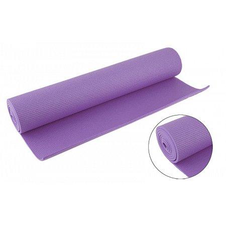 Коврик для фитнеса Yoga mat PVC 4мм FI-4986-2 (1,73м x 0,61м x 4мм, сиреневый)