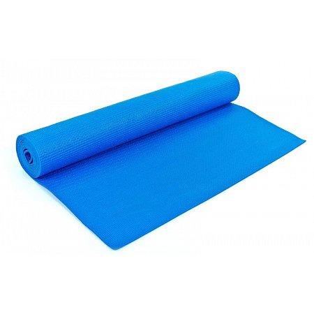 Коврик для фитнеса Yoga mat PVC 4мм с чехлом YG-2774-2(B) (1,73м x 0,61м x 4мм, PL, синий)