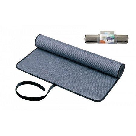 Коврик для фитнеса Yoga mat PVC 6мм PS B-1007 (1,7м x 0,6м x 6мм, серый)