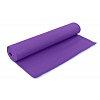 Коврик для фитнеса Yoga mat PVC 6мм с фиксирующей резинкой YG-066(V) (1,73м x 0,61м x 6мм, фиолет)