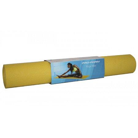 Коврик для йоги, 173x61см x 3мм (желтый), ProForm, PFIYM213