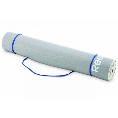 Коврик для йоги Reebok, 173x61см x 4мм, Grey, RAEL-11022GR