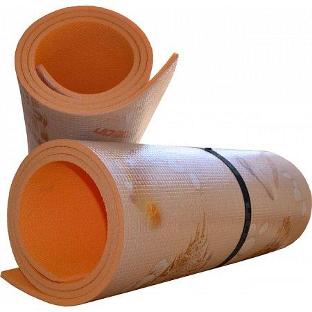 Коврик ижевский (каремат) Изолон Decor Пляж (8 мм, 180 x 55 см, 33 кг/м3, одноцвет)