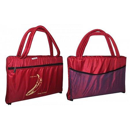 Коврик-сумка 2в1 (для пляжа и туризма) UR TY-4460-R (р-р 1,8 х 0,6м х 1см,на змейке,красный)