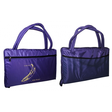 Коврик-сумка 2в1 (для пляжа и туризма) UR TY-4460-V (р-р 1,8 х 0,6м х 1см,на змейке, фиолет)