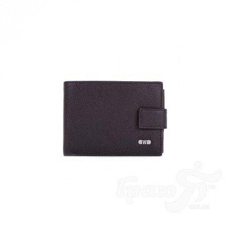 Кожаный мужской кошелек WANLIMA (ВАНЛИМА) W31529470001-black