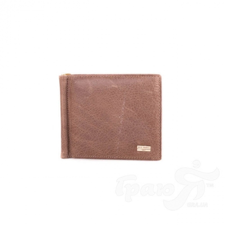 Кожаный зажим для купюр мужской WHITE DOLPHIN (ВАЙТ ДОЛФИН) DNKW502-4271