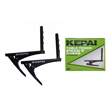 Крепление клипсовое для сетки настольного тенниса KEPAI KF-2130-1 (металл, цвет. карт. коробка)