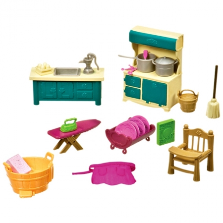 Кухонька и подсобная, Li'l Woodzeez, 6125Z